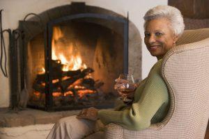 Window film can make a home warmer in winter.