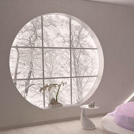 Round window - Modern Home Windows