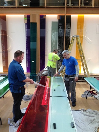 Commercial Decorative Window Film Design and Installation Process