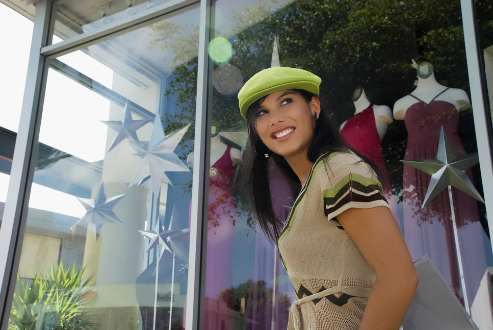Window film protects your store windows.