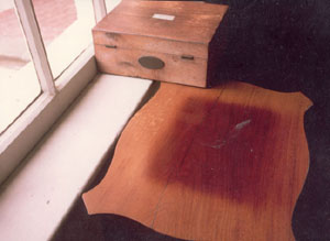 sun damaged wood furniture